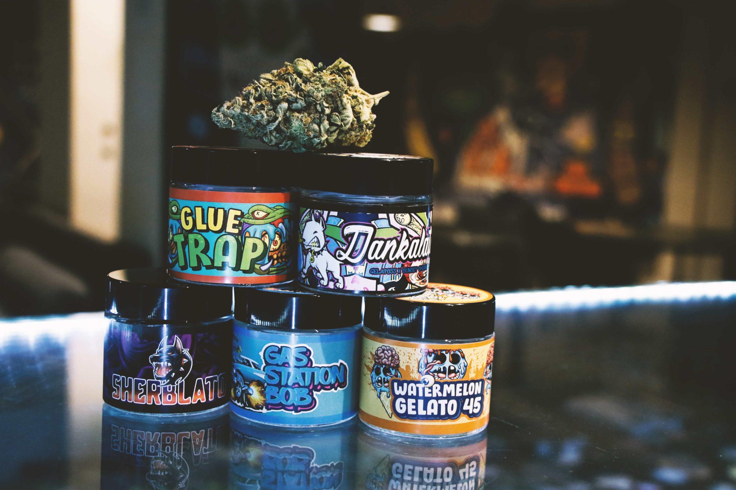 weed samples